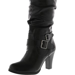 Style and Co. Heeled Knee High Boots